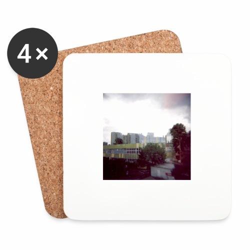 Original Artist design * Blocks - Coasters (set of 4)