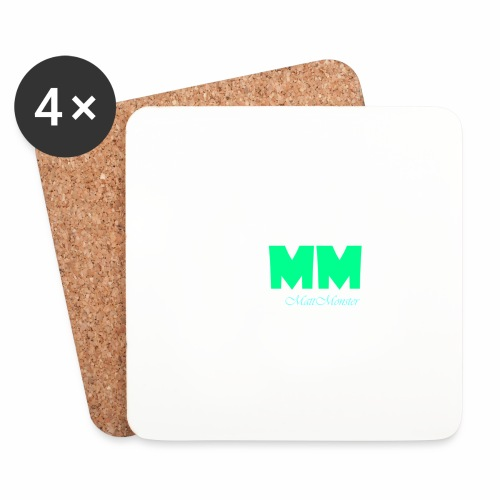 MattMonster Signature logo - Coasters (set of 4)