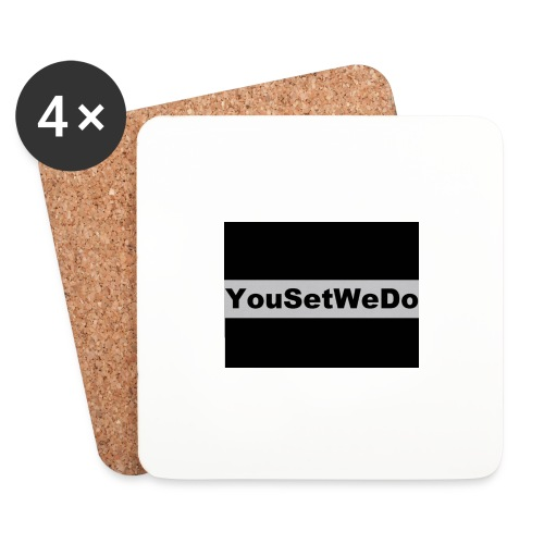 logo for case - Coasters (set of 4)