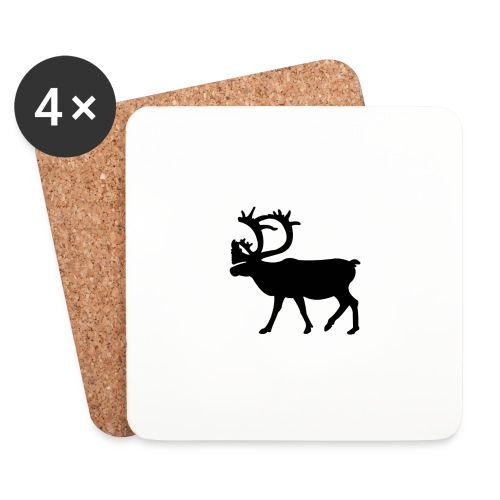 Le Caribou - Dessous de verre (lot de 4)