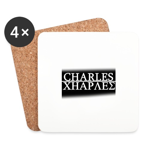 CHARLES CHARLES BLACK AND WHITE - Coasters (set of 4)