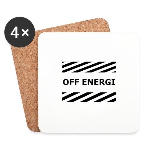OFF ENERGI officiel merch - Underlägg (4-pack)