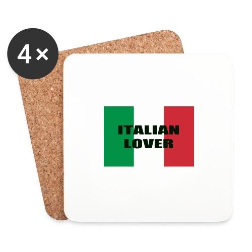 ITALIAN LOVER - Sottobicchieri (set da 4 pezzi)
