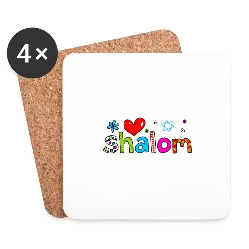 Shalom II - Untersetzer (4er-Set)