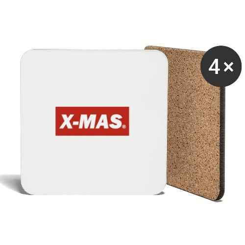 X Mas - Coasters (set of 4)
