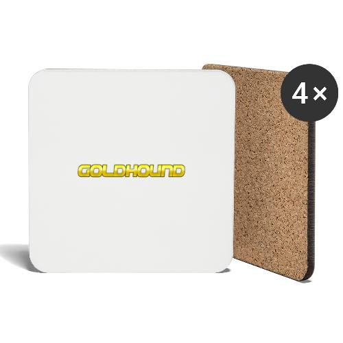 Goldhound - Coasters (set of 4)