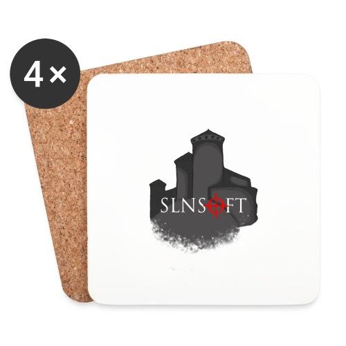 slnsoft - Lasinalustat (4 kpl:n setti)