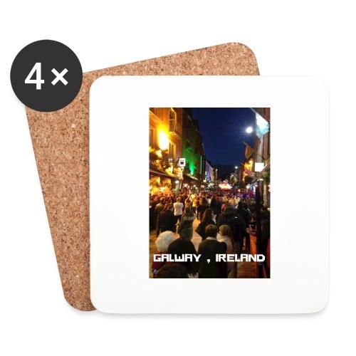 GALWAY IRELAND SHOP STREET - Coasters (set of 4)