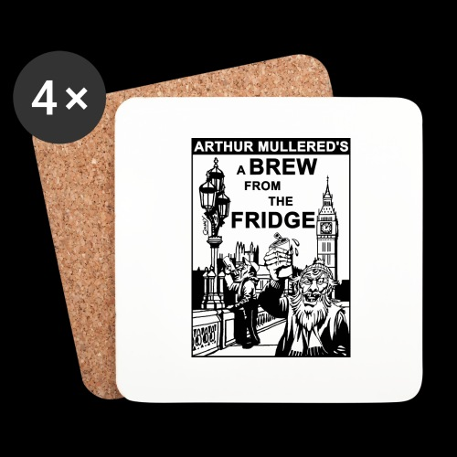 A Brew from the Fridge v2 - Coasters (set of 4)