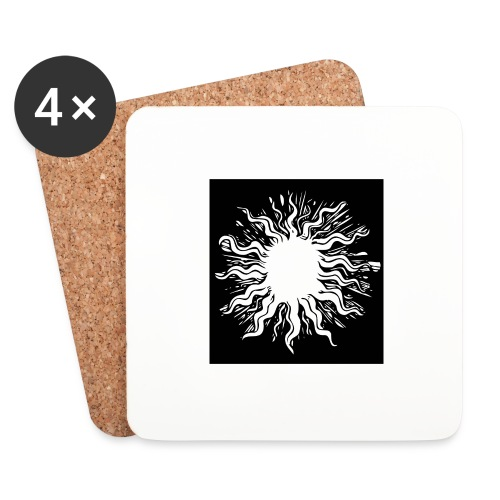 sun1 png - Coasters (set of 4)