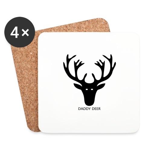 DADDY DEER - Coasters (set of 4)