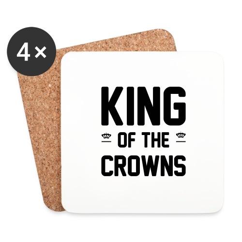 King of the crowns - Onderzetters (4 stuks)