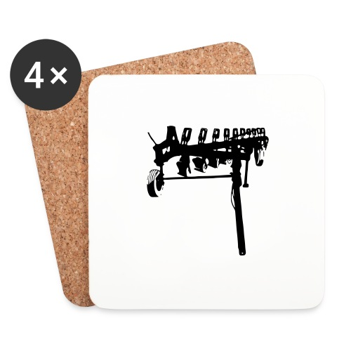 trailed plow - Coasters (set of 4)