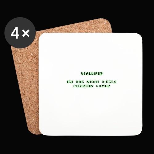 reallife - Untersetzer (4er-Set)