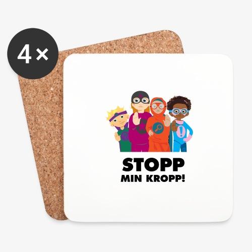 Stopp min kropp! - Underlägg (4-pack)