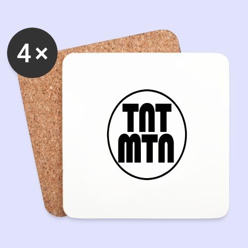 tntmtnlogo - Lasinalustat (4 kpl:n setti)