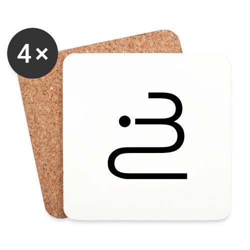logobottega - Sottobicchieri (set da 4 pezzi)