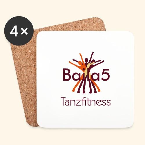 Baila5 Tanzfitness - Untersetzer (4er-Set)