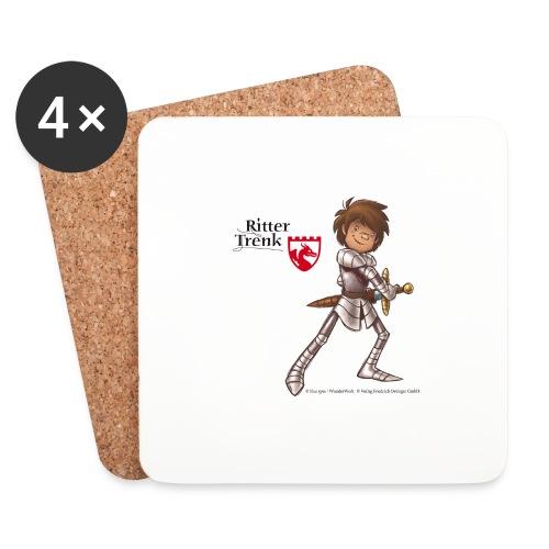 Ritter Trenk Bio-T-Shirt für Kinder - Untersetzer (4er-Set)