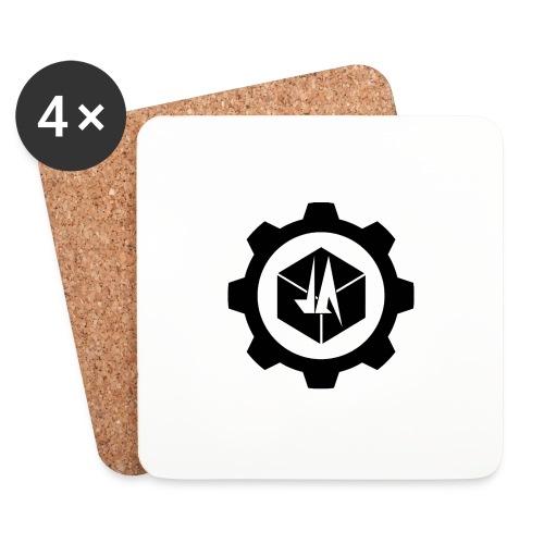 Jebus Adventures Logo (Transparent) - Coasters (set of 4)