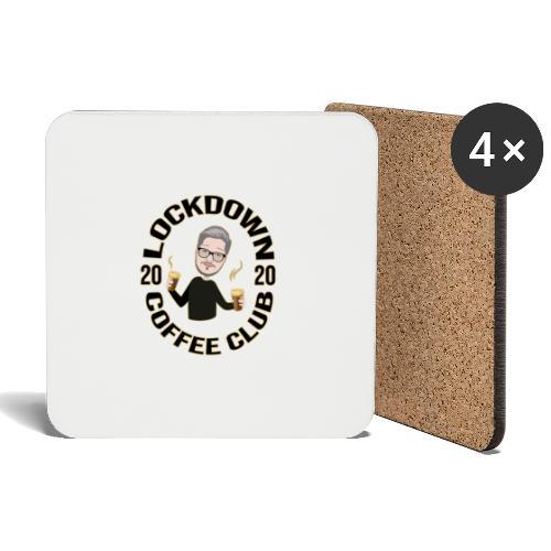 Lockdown Coffee Club 2020 - Coasters (set of 4)