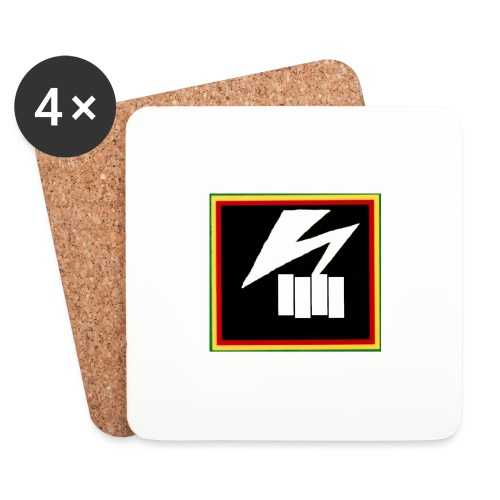 bad flag - Coasters (set of 4)