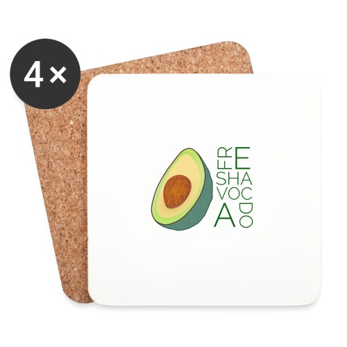 FRESHAVOCADO - Coasters (set of 4)