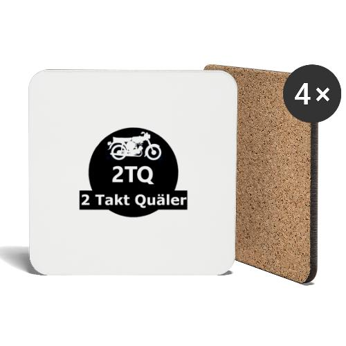 2 Takt Quäler Logo - Untersetzer (4er-Set)