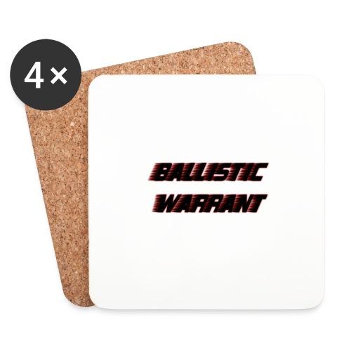 BallisticWarrrant - Onderzetters (4 stuks)