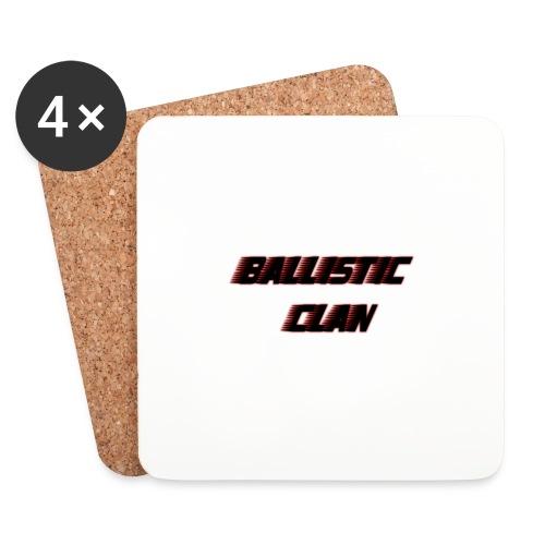BallisticClan - Onderzetters (4 stuks)