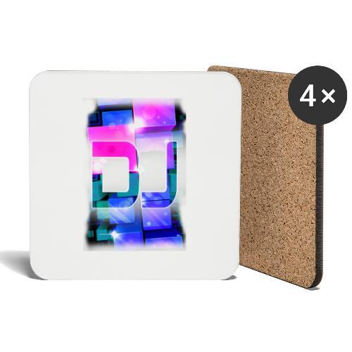 DJ by Florian VIRIOT - Dessous de verre (lot de 4)