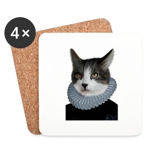 Noble Cat - Untersetzer (4er-Set)