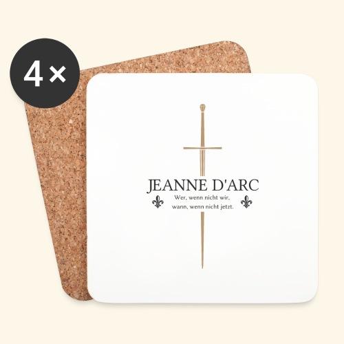 Jeanne d arc dark - Untersetzer (4er-Set)