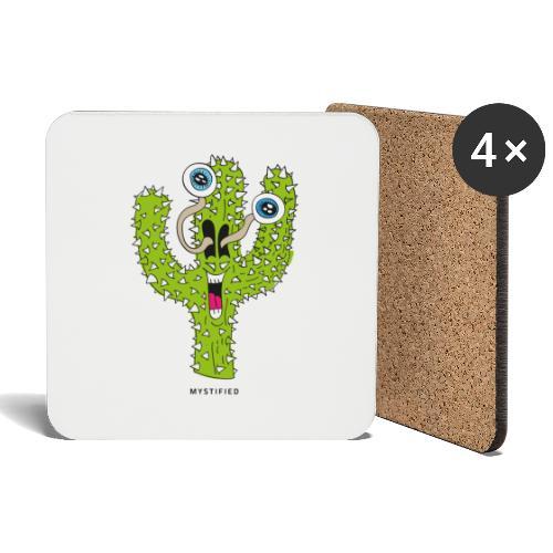 Mystified Cactus - Onderzetters (4 stuks)