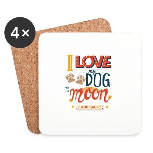 Moon Dog Light - Underlägg (4-pack)