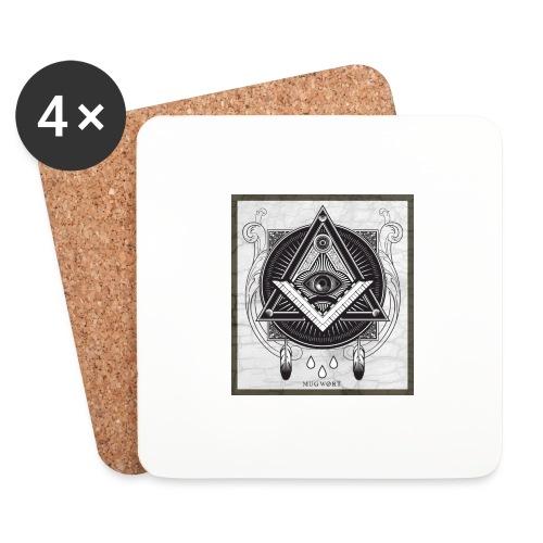 Illuminati - Dessous de verre (lot de 4)