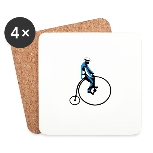 retro rower - Podstawki (4 sztuki w zestawie)