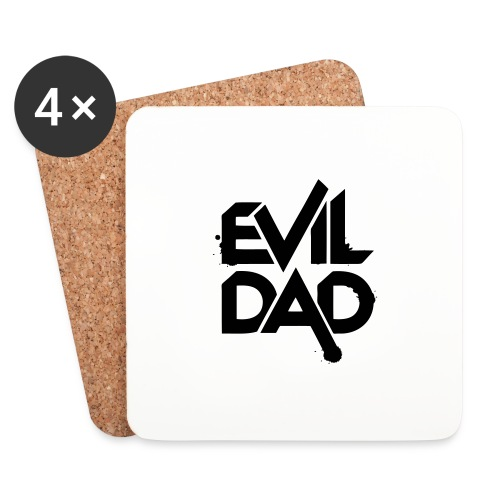 Evildad - Onderzetters (4 stuks)