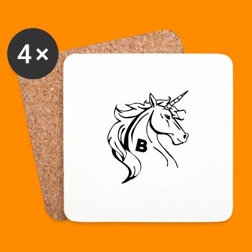 the biodusty unicorn mousepad - Onderzetters (4 stuks)