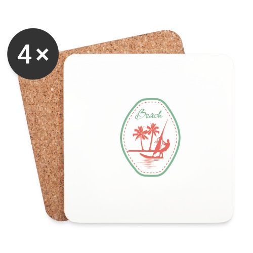 Beach - Coasters (set of 4)