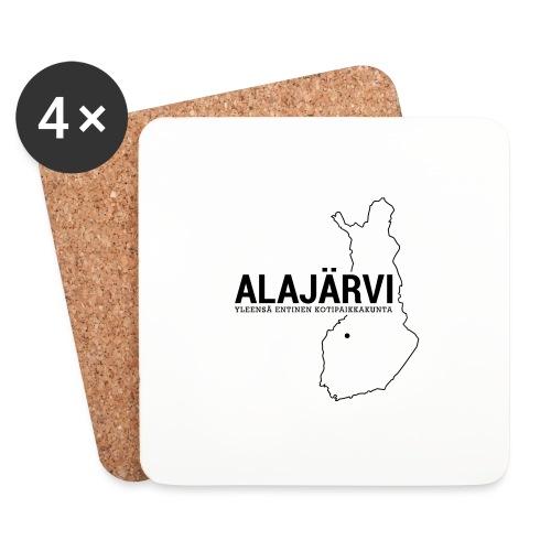 Kotiseutupaita - Alajärvi - Lasinalustat (4 kpl:n setti)