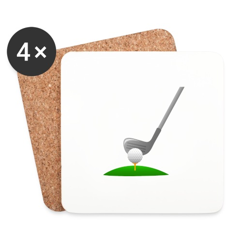 Golf Ball PNG - Posavasos (juego de 4)
