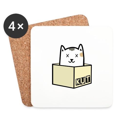 Kitten Los Default Colours - Onderzetters (4 stuks)