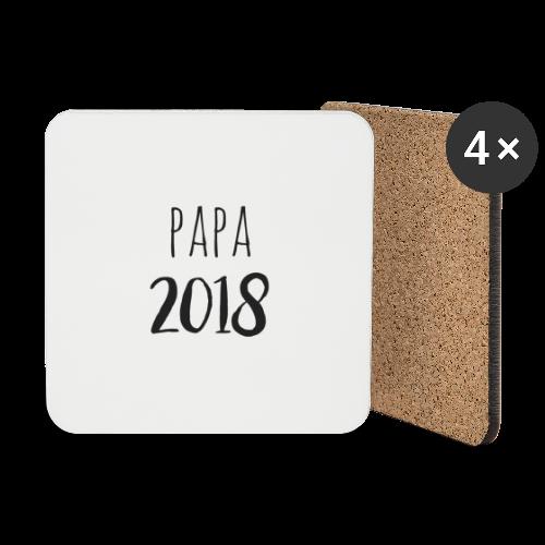 Papa 2018 - Untersetzer (4er-Set)