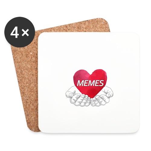 Love Memes - Coasters (set of 4)