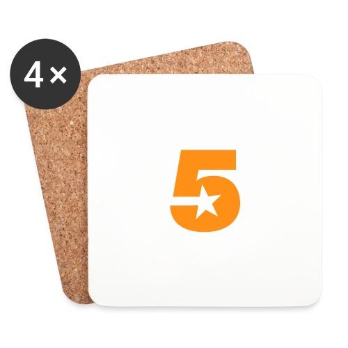 No5 - Coasters (set of 4)