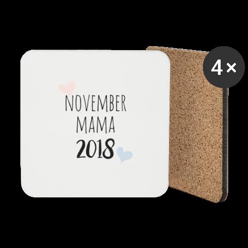 November Mama 2018 - Untersetzer (4er-Set)