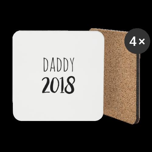 Daddy 2018 - Untersetzer (4er-Set)
