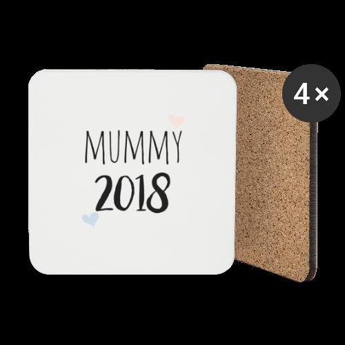 Mummy 2018 - Untersetzer (4er-Set)
