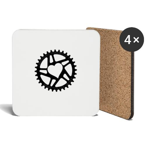 LOVE CHAINRING Tee - Coasters (set of 4)